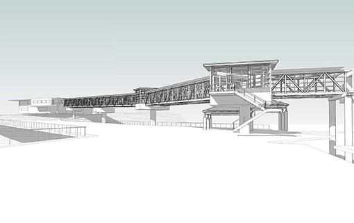 Ferry Terminal rendering