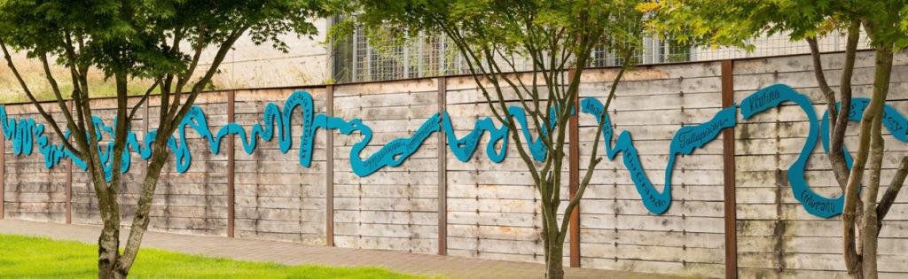 public art at UW Tacoma